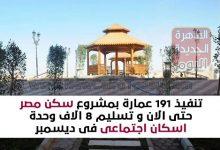 تنفيذ 191 عمارة بمشروع سكن مصر