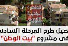 """تفاصيل طرح المرحلة السادسة فى مشروع """"بيت الوطن"""" لأراضي المصريين بالخارج"""