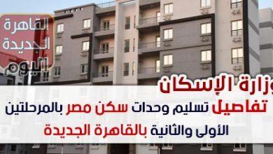 تفاصيل تسليم وحدات سكن مصر بالمرحلتين الأولى والثانية بالقاهرة الجديدة